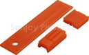 BRAKE LINER SET SULZER TW11 LOOM ORANGE